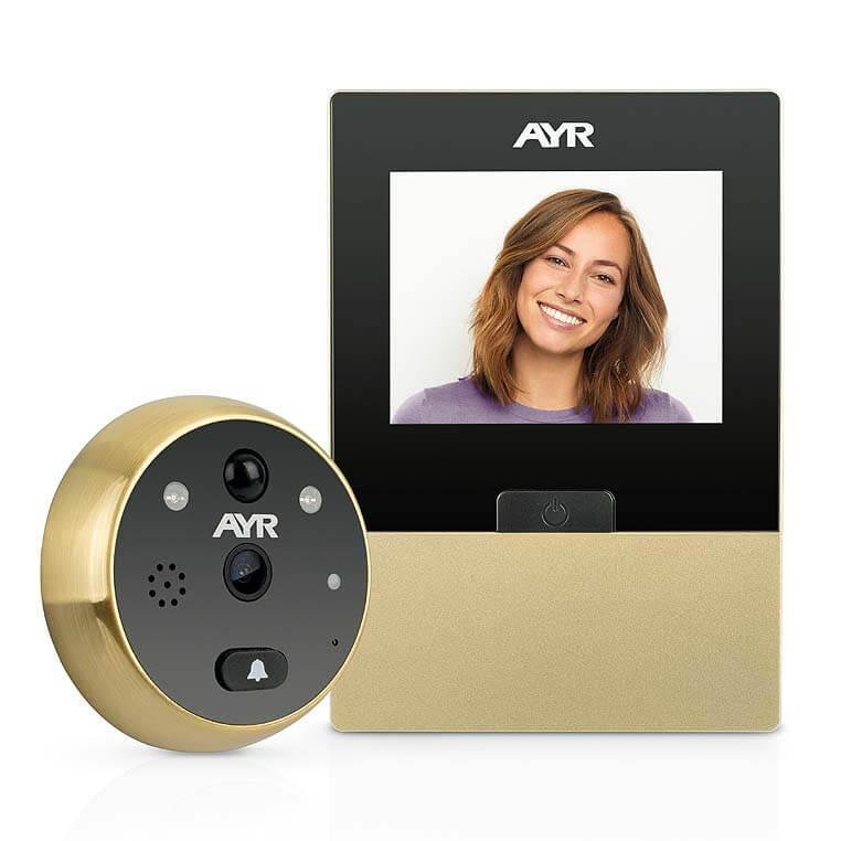 Mirilla digital para puertas marca  AYR